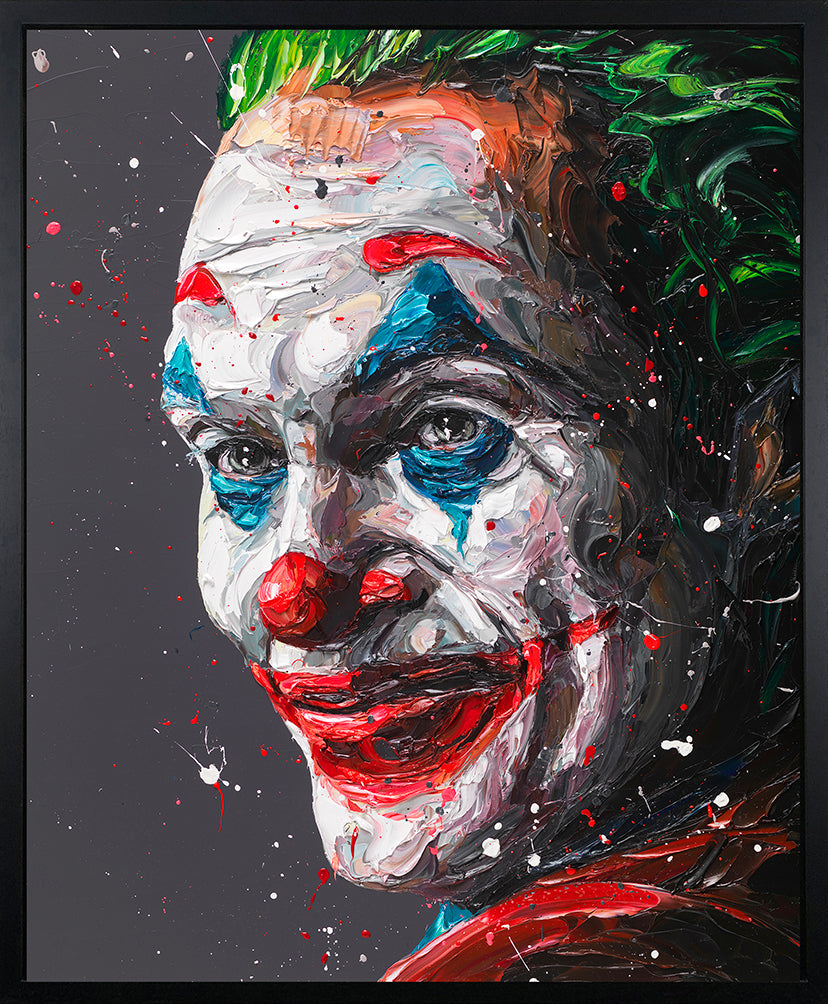 Paul Oz - 'Arthur Phoenix' (Joker) - Limited Edition Art