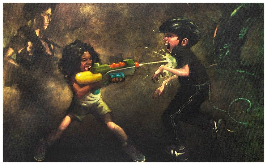 Craig Davison - ' Ripley's Game ' - Limited Edition Art and Original