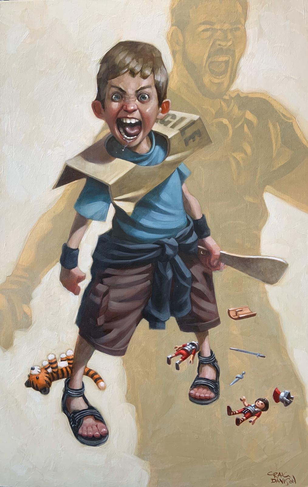 Craig Davison - ' Are You Not Entertained?' - Limited Edition Art & Original