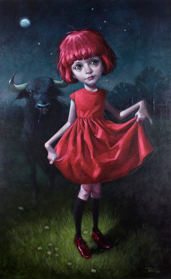 Craig Davison - ' Dare ' - Limited Edition Art
