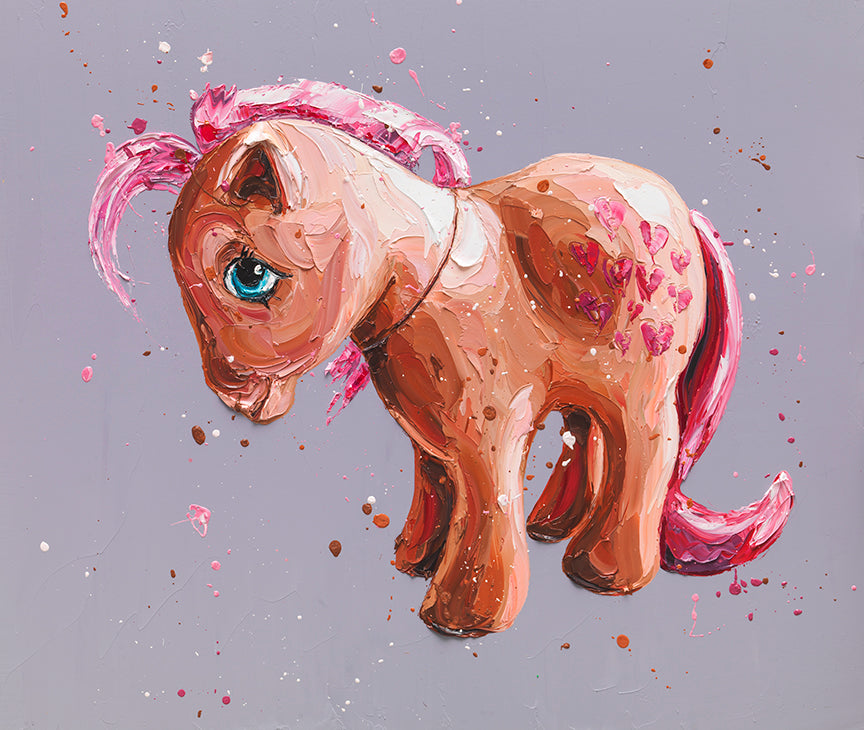 """Peaches"" My Little Pony by Paul Oz (limited edition)"