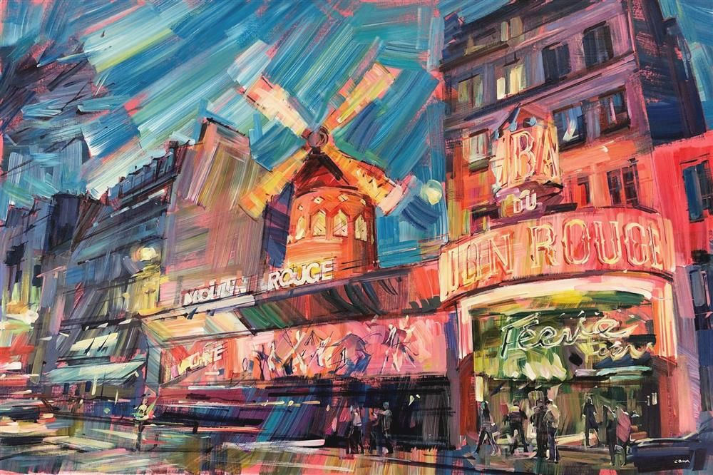 Colin Brown - 'Moulin Rouge' - Original Art