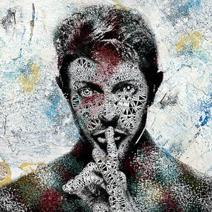 Zee - 'Bowie' -Cotton Collection' - Limited Edition Art