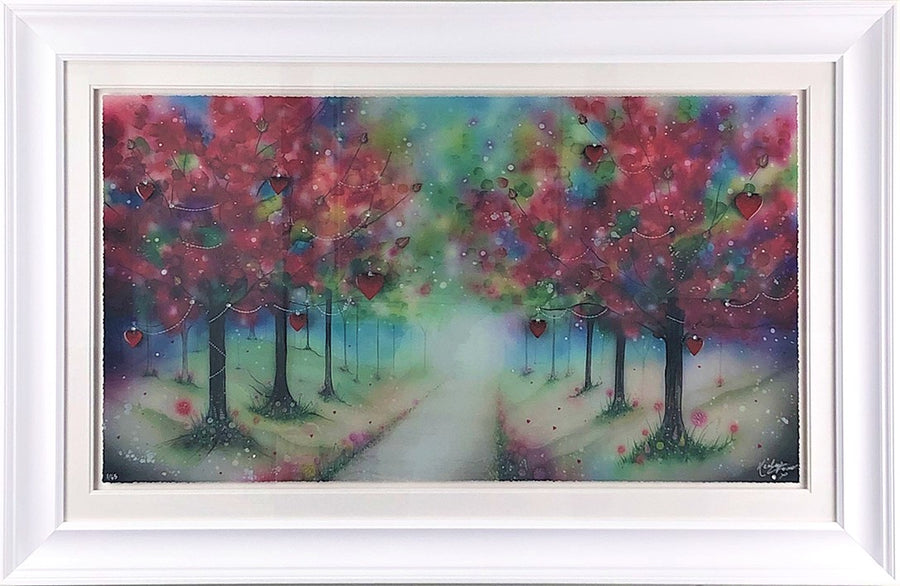""" Love Will Lead The Way ""  by Kealey Farmer (FRAMED limited edition print)"