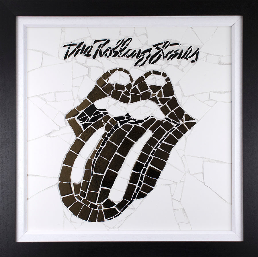 David O'Brien - 'The Rolling Stones - Hot Lips' - Original Mosaic Art