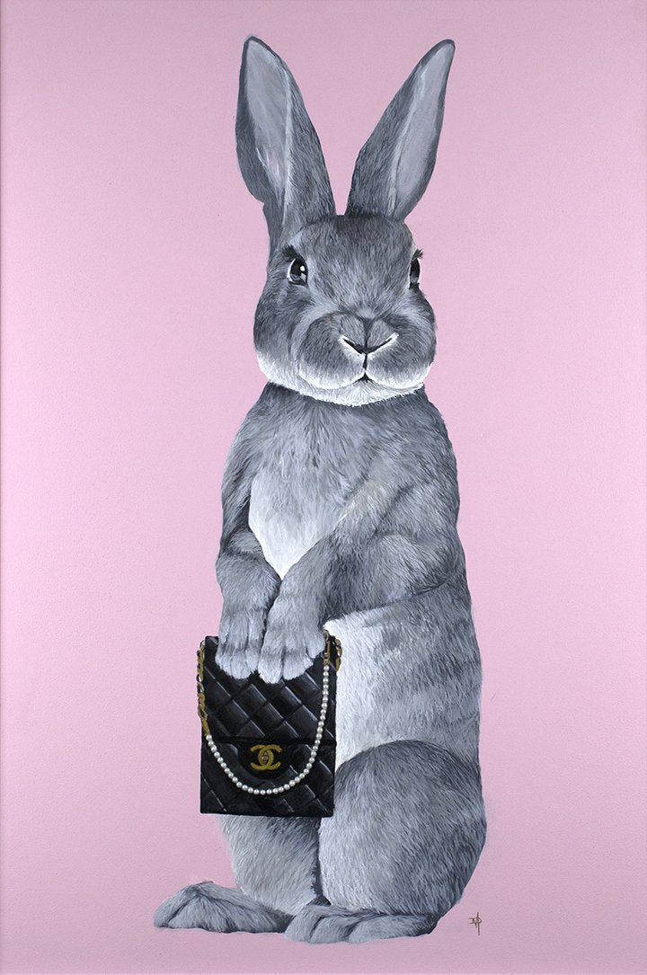 Dean Martin - 'Bunny Girl - Chanel' - Limited Edition Art