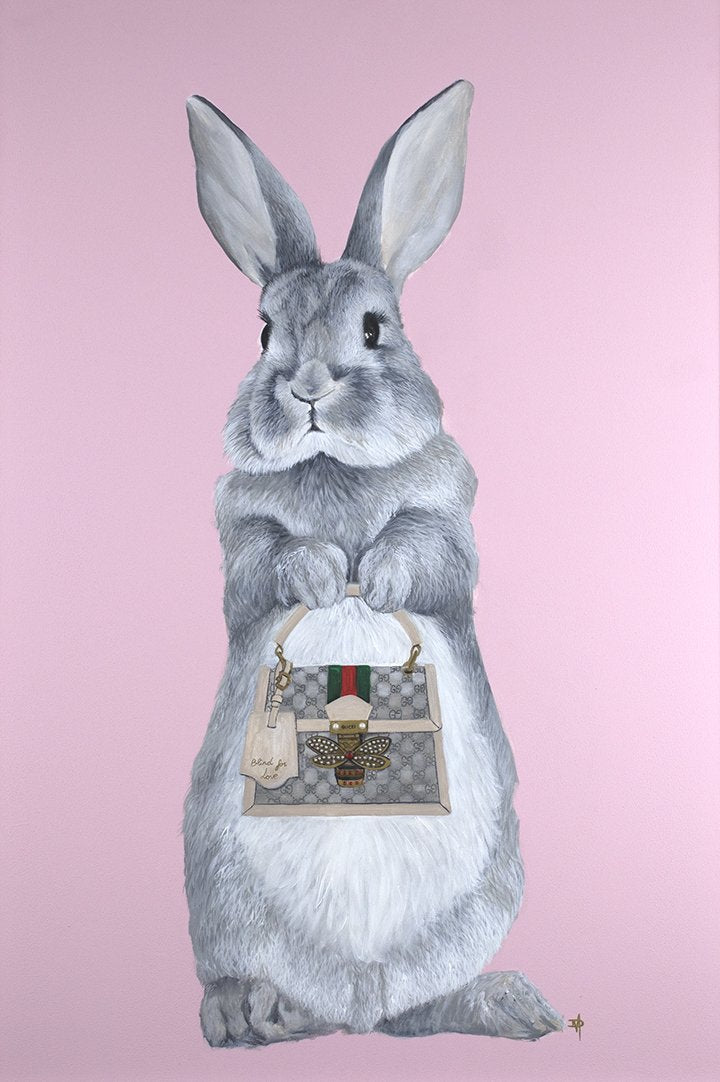 Dean Martin - 'Bunny Girl - Gucci ' - Limited Edition Art