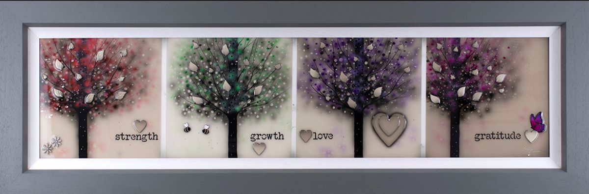 Kealey Farmer - 'Strength, Growth, Love & Gratitude' - Original