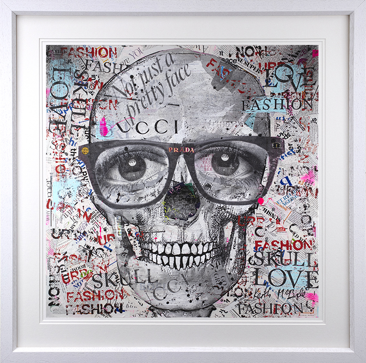 Keith McBride - 'Not Just A Pretty Face' - Framed Limited Edition Print