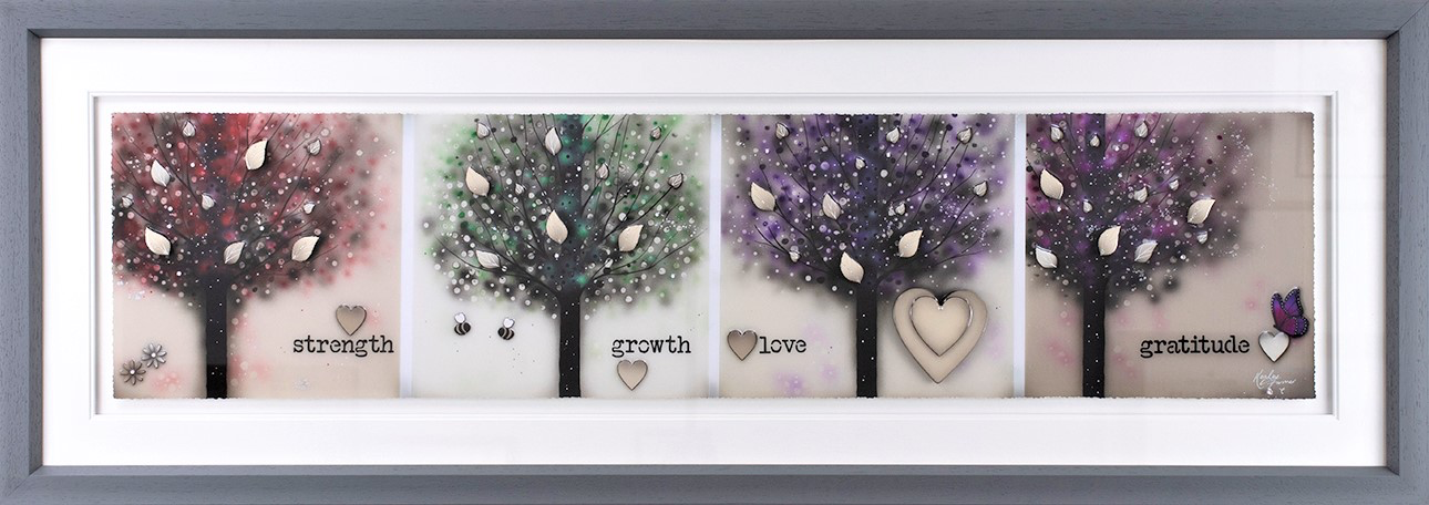 Kealey Farmer - 'Strength, Growth, Love & Gratitude' - Limited Edition Art
