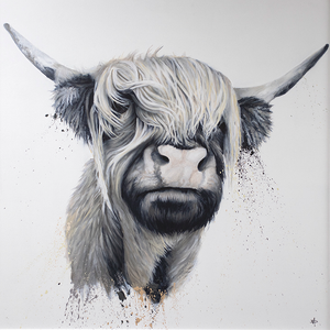 Dean Martin  - ' Highland Cow ' - Limited Edition Art