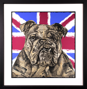 Chess - 'The British Bulldog' - Original & Limited Edition Print