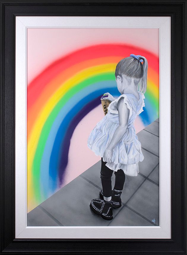 Dean Martin  'A Rainbow for Heroes'  Limited Edition Art
