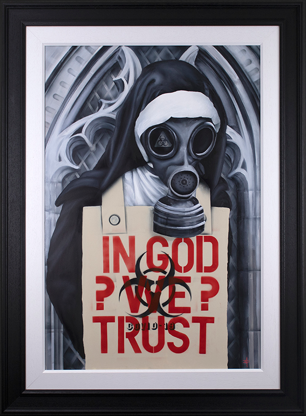 Dean Martin  'In God We Trust'  Limited Edition Art