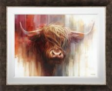 Ben Jeffery - 'Red Bull' - Framed Limited Edition Art (Canvas)