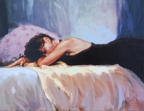 Mark Spain - 'Sleepy Afternoon' - Limited Edition Art
