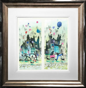 Sue Howells RWS - Much Ado About Nothing - Dyptich - Limited Edition Art