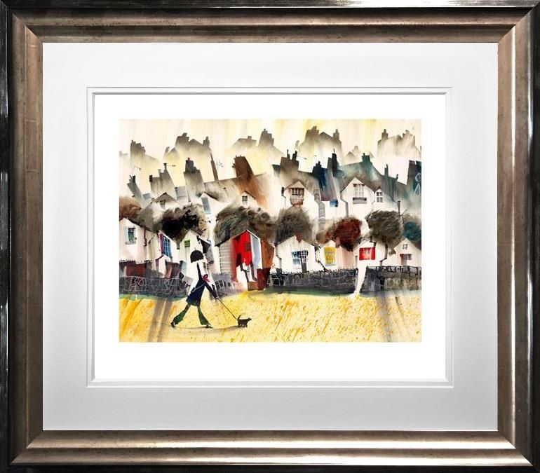 Sue Howells RWS - 'April Showers' - Limited Edition Art