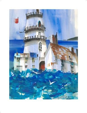 Sue Howells RWS - 'Fisherman's Blues' - Limited Edition Art