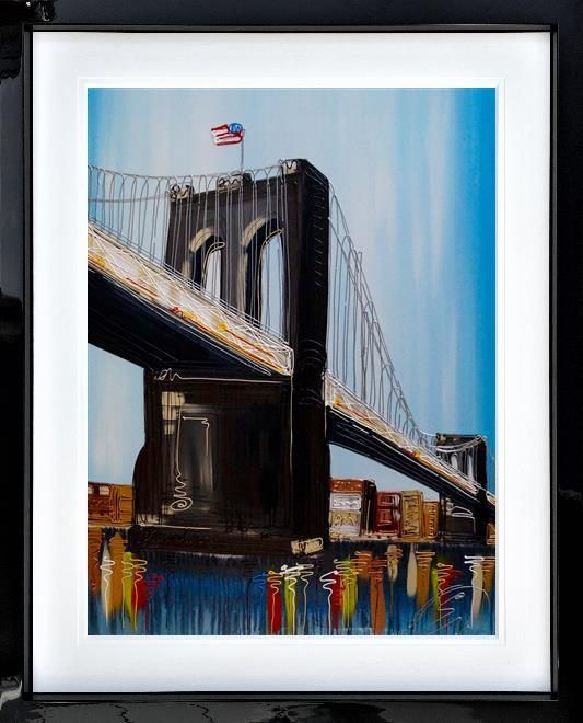Edward Waite - 'Brooklyn Bridge' - Original Art