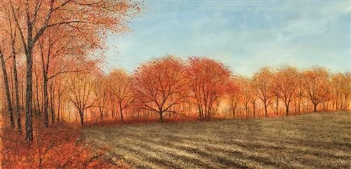 Chris Bourne - 'The Autumn Clearing' - Original Art
