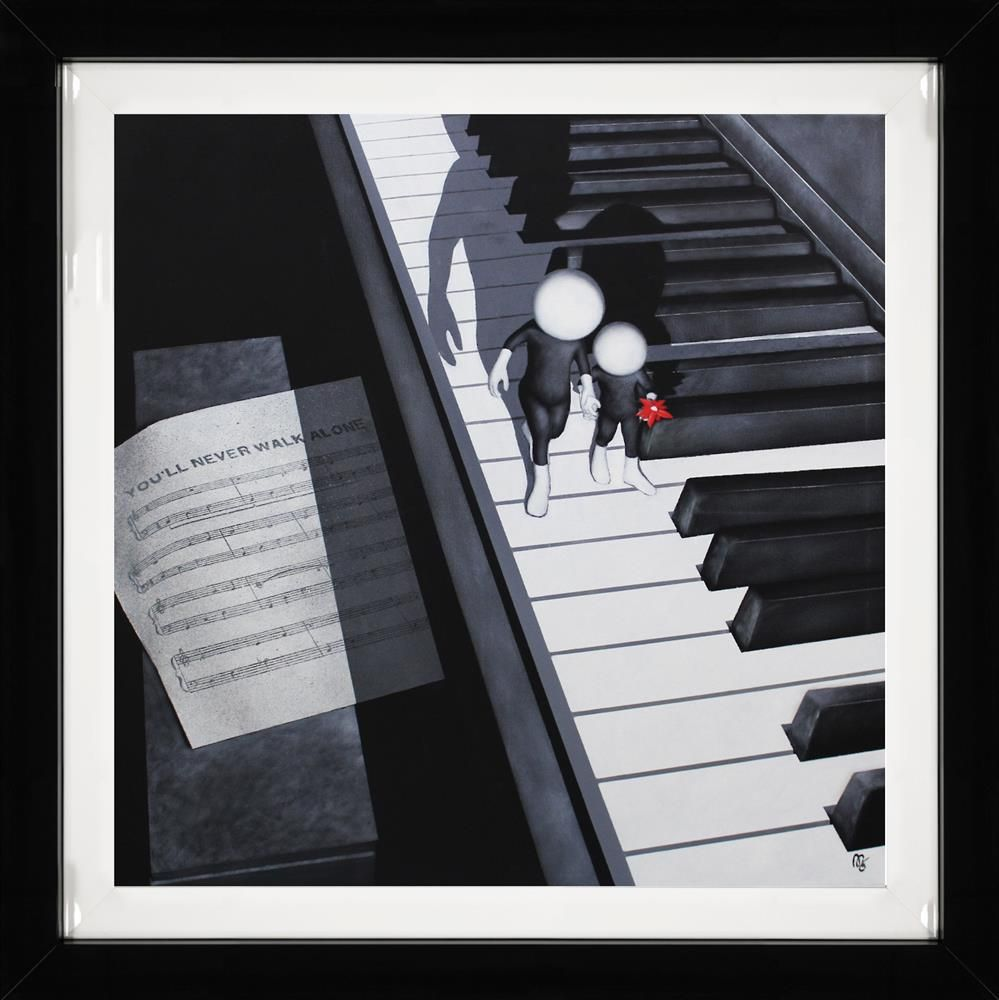 Mark Grieves - 'You'll Never Walk Alone' - Limited Edition Art
