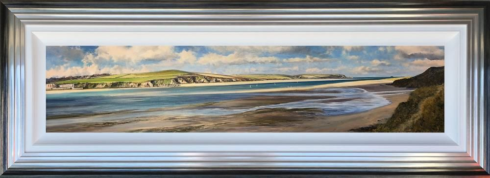 Duncan Palmar ARSMA - 'Sunshine and Shadows, The Camel Estuary ' - Original Art