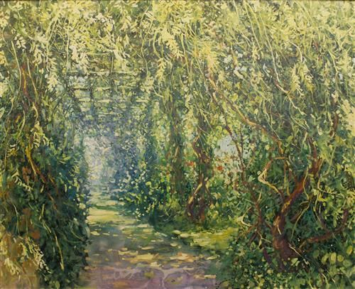 Mariusz Kaldowski - 'The Tunnel of Vines' - Original Art
