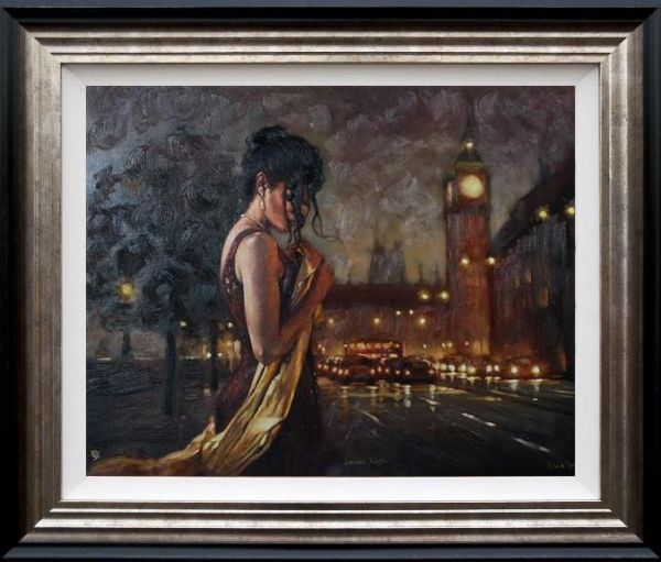 Mark Spain - 'London Nights' - Limited Edition Art