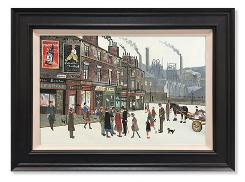 Allen Tortice - 'Pit Scene' - Limited Edition Artwork