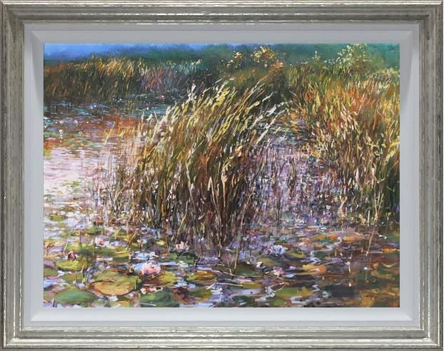 Mariusz Kaldowski - 'Lillies and Reeds' - Original Art