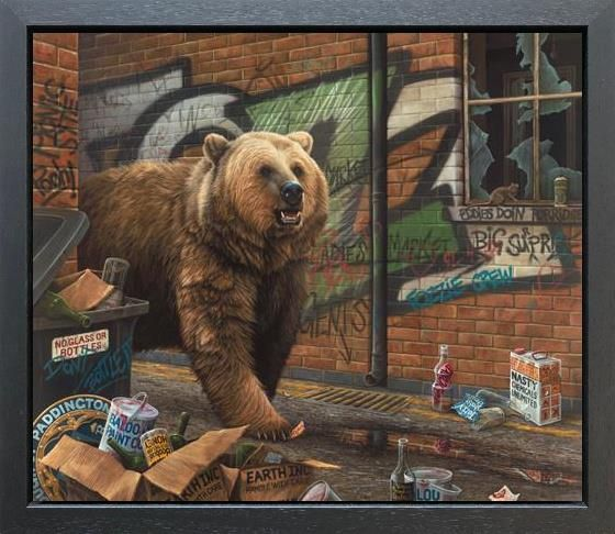 Paul James - 'Grizzly' - Canvas - Limited Edition Artwork