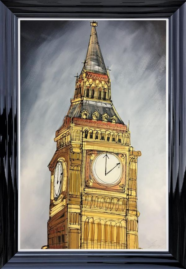 Edward Waite - '2 O'Clock At Westminister' - Original Art