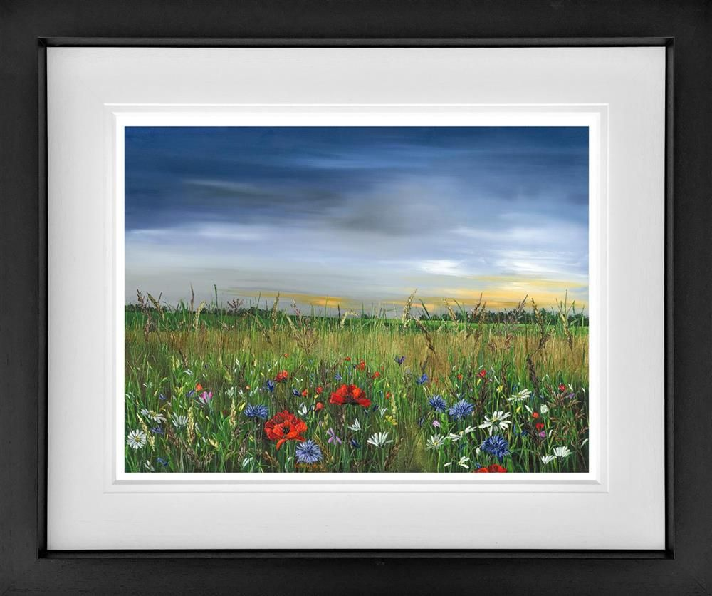 Kimberley Harris - 'Poppy Dawn' - Limited Edition Art