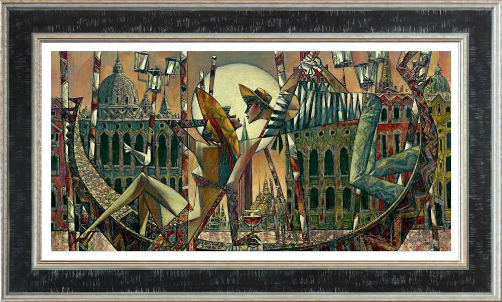 Andrei Protsouk - 'Love in Venice (Large)' - Limited Edition Art