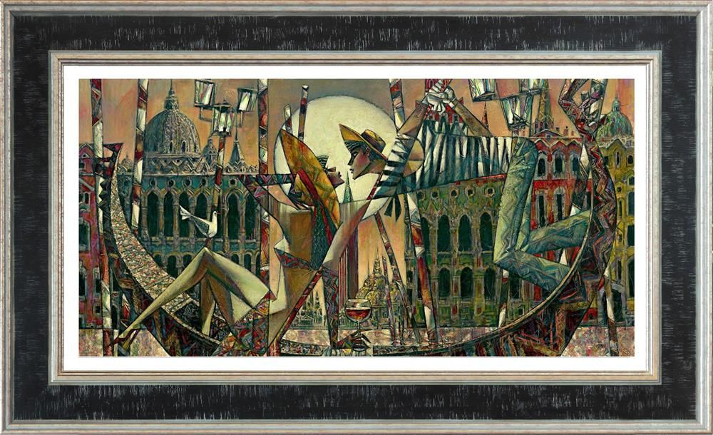 Andrei Protsouk - 'Love in Venice (Small)' - Limited Edition Art