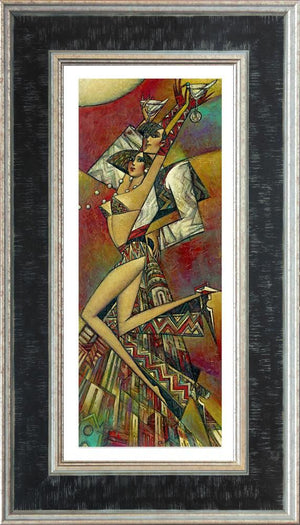Andrei Protsouk - 'Uptown Martini (Small)' - Limited Edition Art