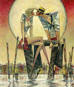 Andrei Protsouk - 'Lunar Love' (Large) - Limited Edition Art