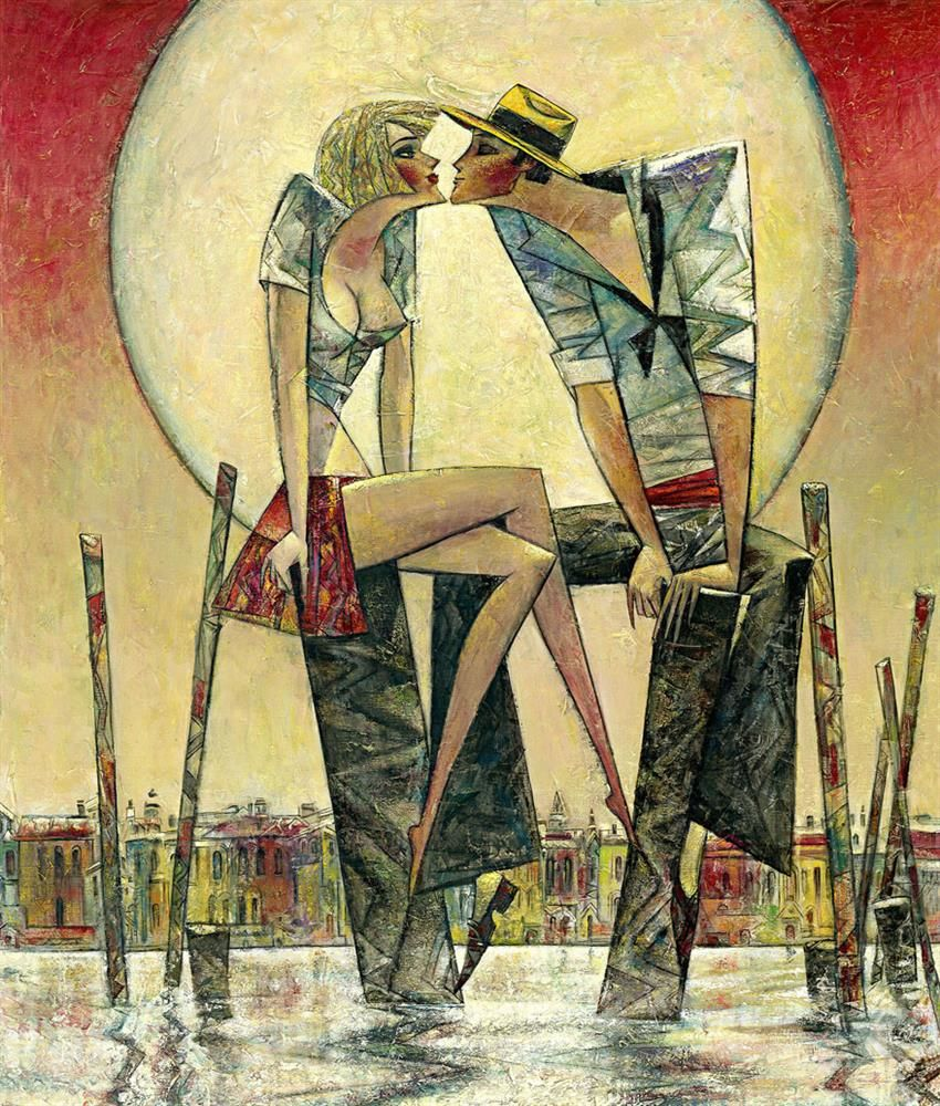 Andrei Protsouk - 'Lunar Love (Small)' - Limited Edition Art