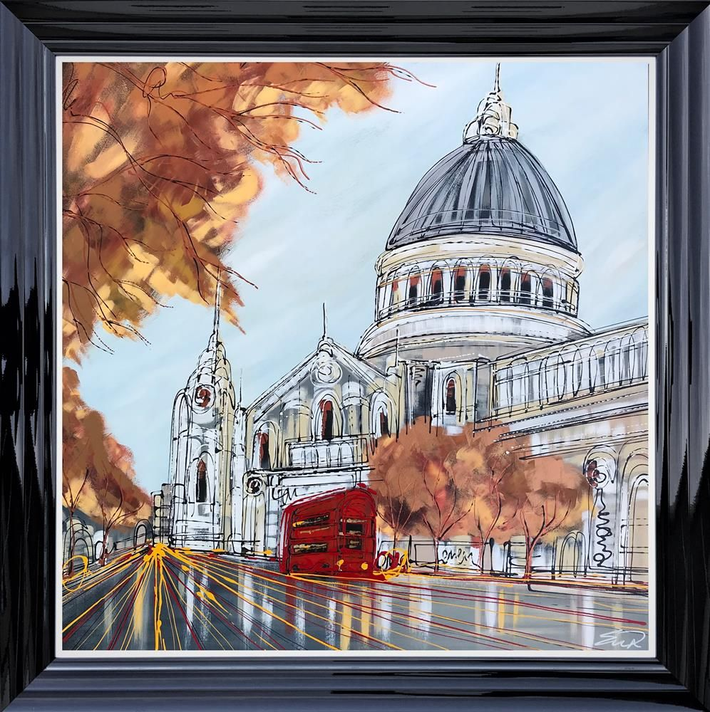 Edward Waite - 'Catching the Afternoon Bus' - Original Art