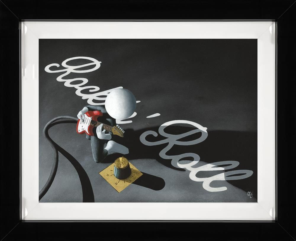 Mark Grieves - 'Rock 'N' Roll' - (3D High Gloss) - Limited Edition Art