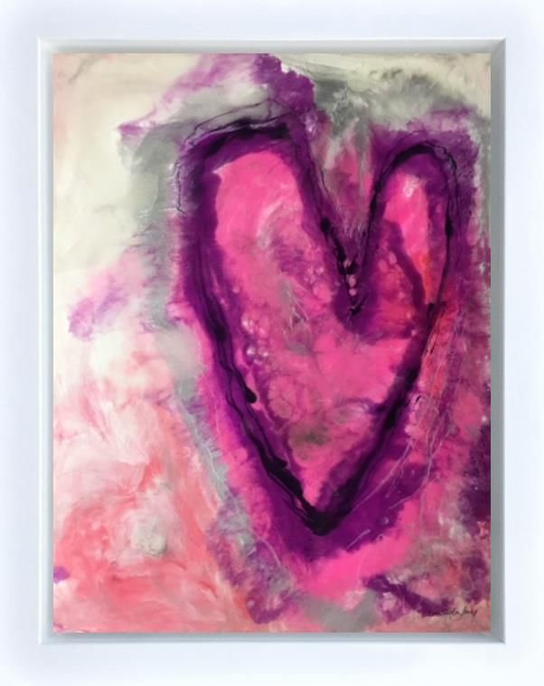 Amanda Jones - Pink Passion - Original Artwork