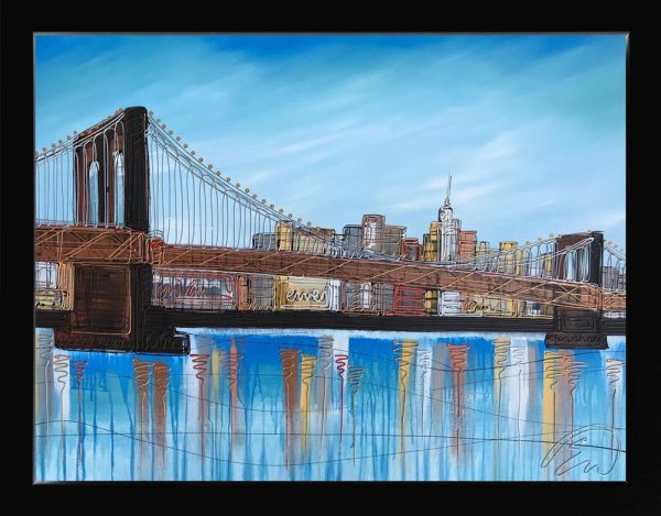 Edward Waite - 'Brooklyn Blues' - Original Art