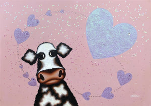 Caroline Shotton - 'Surrounded By Love' - Original Art
