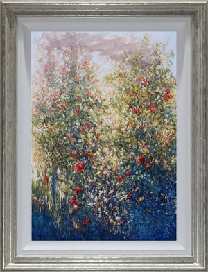 Mariusz Kaldowski - 'Rose and Honeysuckle Pergola' - Original Art