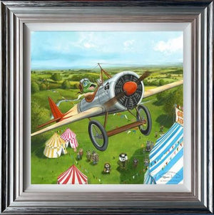 Dale Bowen - 'Mr Toad' s Fantastic Air Display' - Limited Edition Art