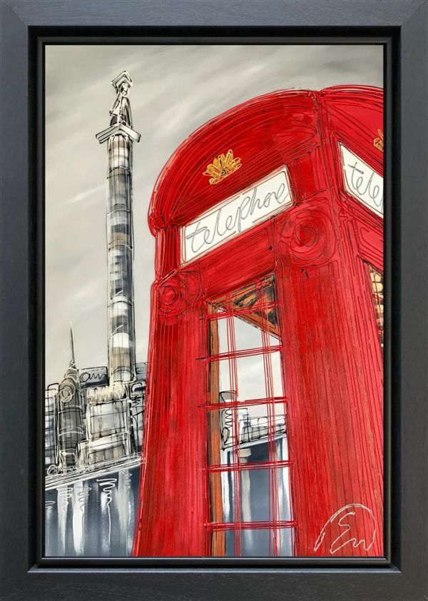Edward Waite - 'Calling Nelson' - Original Art