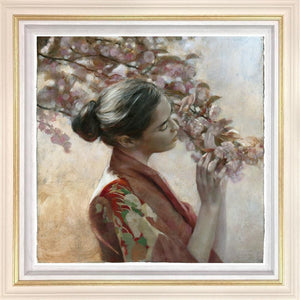 Fletcher Sibthorp - 'The Frailty of Hearts and Flowers (Study)' - Limited Edition Art