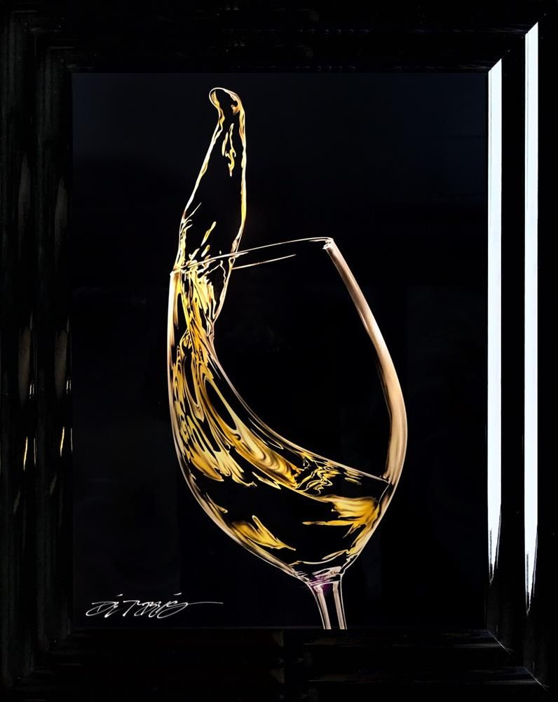 Chris DeRubeis - 'White Wine -1902456' - Original Art