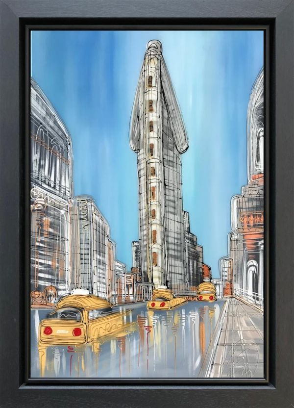 Edward Waite - 'Flatiron Blues' - Original Art